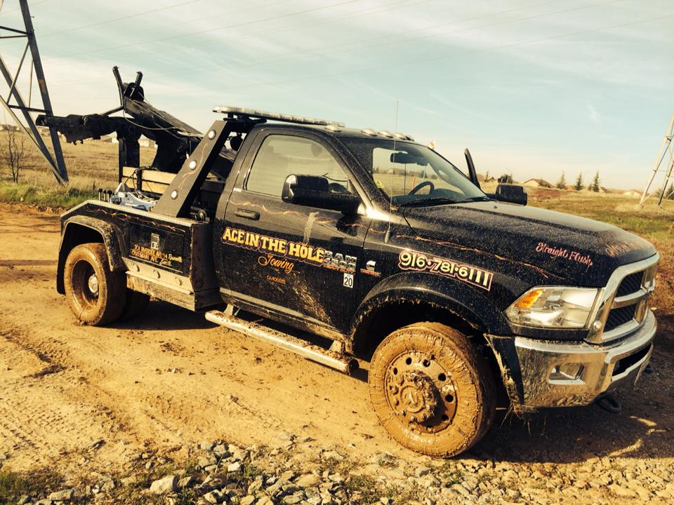 Rocklin Ace Towing is ready to get dirty if you are stuck. We have the equipment, and we have the drivers to get you out of a muddy, sticky spot. We have the trucks ready to winch you out, so you can get back to having fun.