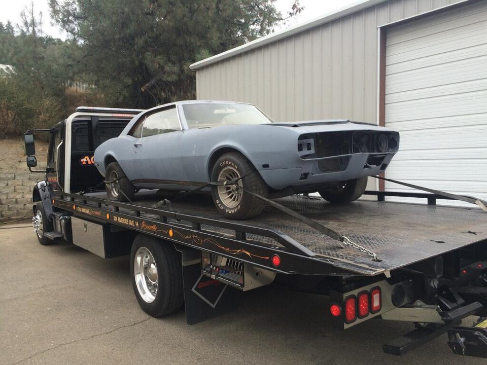 Rocklin Ace Towing loves to tow Camaros. This one is going to a garage, where it will be restored and turned into a work of art. At Rocklin Ace Towing we know how passionate you are about your classic vehicles, and when we move them, we will take great care to see that they arrive in great shape. If you need to have a car or truck moved to your home, for restoration work, Rocklin Ace Towing will gladly deliver it right to your garage.