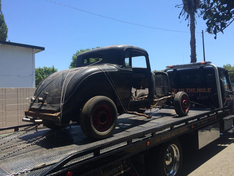 The older a car is, the more fun it is to tow. All we ask at Rocklin Ace Towing is you send us a picture of the finished product when you are done restoring it.
