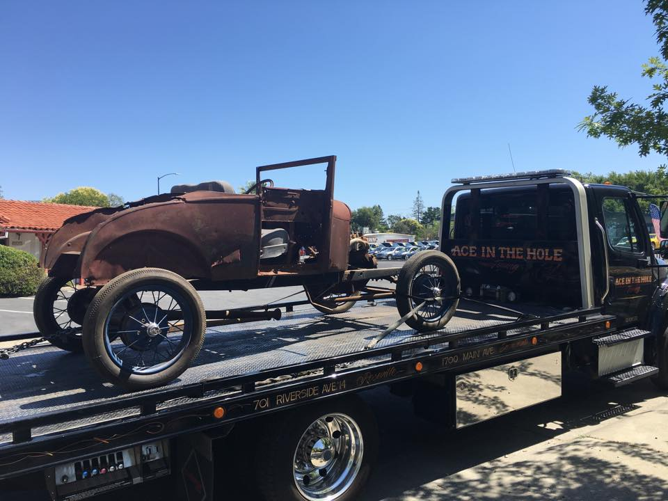 Towing classic cars and trucks so they can be restored is a very cool part of the job. We promise, all Rocklin Ace Towing drivers will be extra careful with old vehicles, treating them with the reverence they deserve.