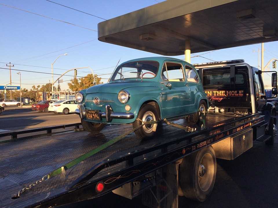 We tow cute little Fiats and very big trucks. Rocklin Ace Towing will take good care of your vehicle, big or small. Our flatbed tow trucks can handle pretty much any vehicle, regardless of the size, or shape.