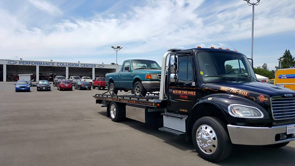 If your Ford truck needs a ride to the shop, call Rocklin Ace Towing for a smooth ride.