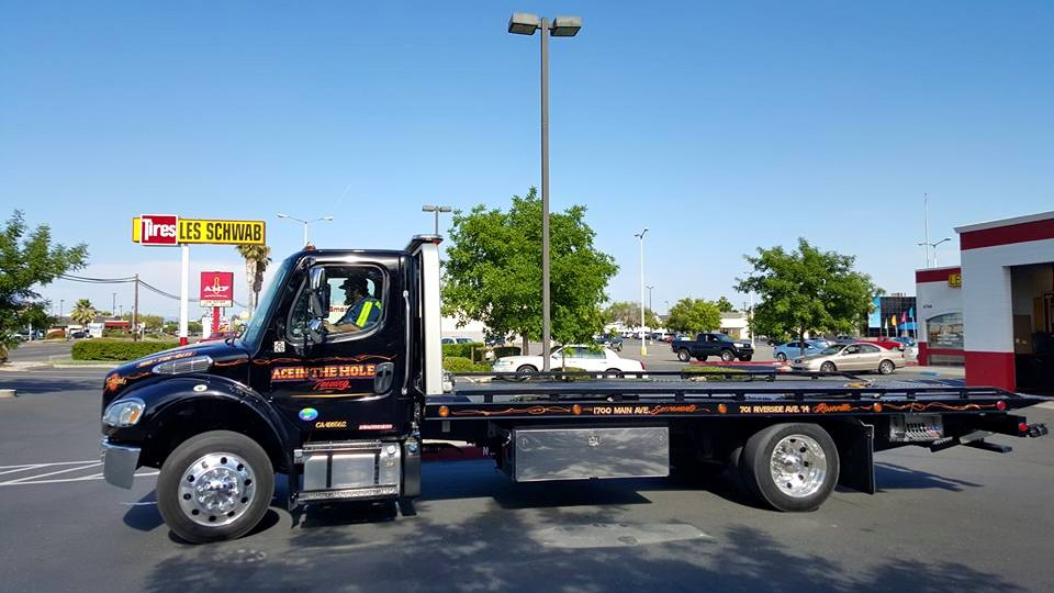 Our Rocklin Ace Towing drivers are always ready to go. We are on-call 24/7, just in case you need our help.