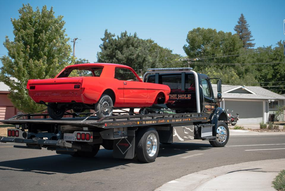 Rocklin Ace Towing will pick up your classic Mustang, and treat it with great care. We know that when you found this diamond in the rough, you had a vision of what it could become, after hundreds of hours of work, and a whole bunch of money. We won't tell your wife about the
