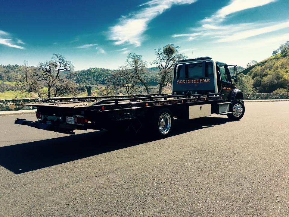 Sometimes Rocklin Ace Towing has to go out into the country to help a customer. Our tow trucks love to get out and get some really fresh air once in a while.