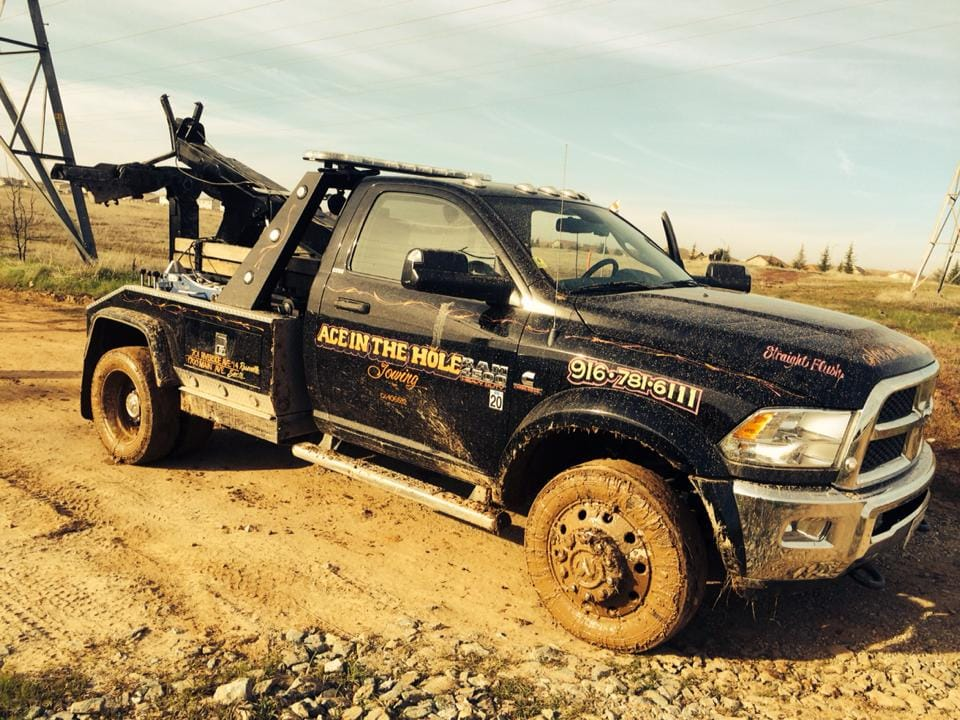 How deep in the mud do you need to be before you call for help? Well, when you decide you need the right equipment to get you 4X4 pulled out of the mud, Rocklin Ace Towing will be ready to answer the call.