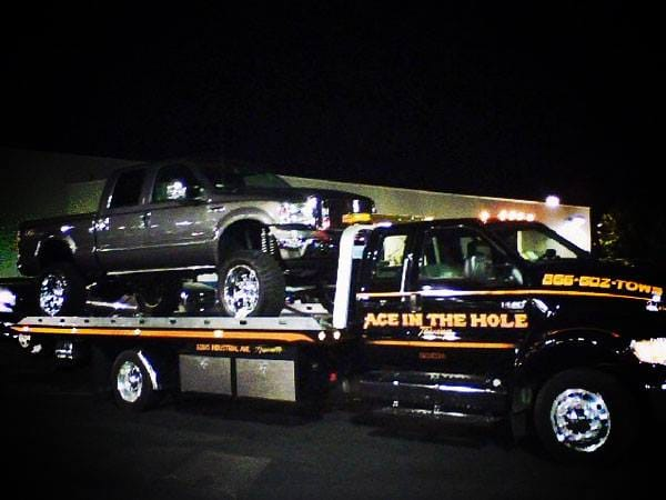 If you need roadside help, day or night, Rocklin Ace Towing is ready to help. We have the best towing equipment, and the best tow truck driver in the area. Call us anytime 24/7, for the best towing company in Placer County.